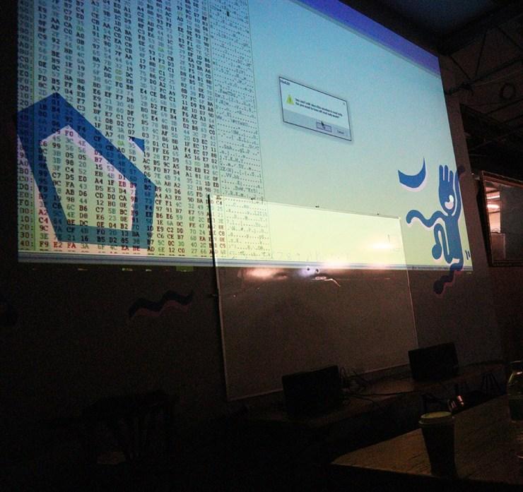 ElectroFringe 18 Workshop