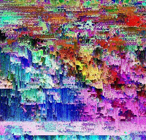 Vaeprism Glitch Art